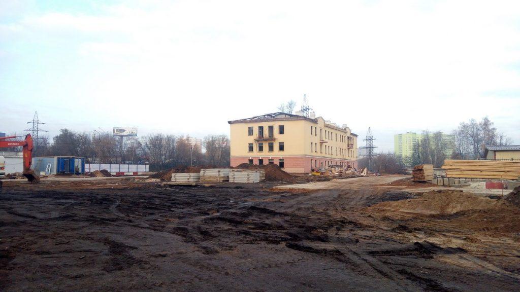 Корпус 1 - Ход строительства