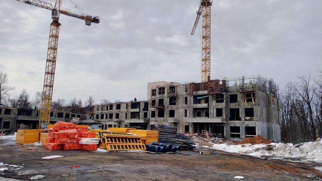 Корпус 11 - Ход строительства