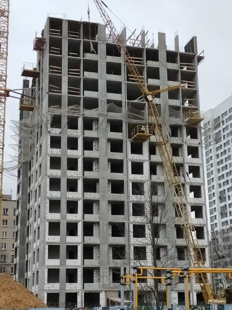 Корпус 8 - Ход строительства